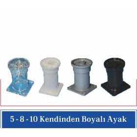 10 CM ORJİNAL RENKLİ AYAK (20 Adet)