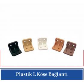 Plastik L Köşe Bağlantı (250 Adet)