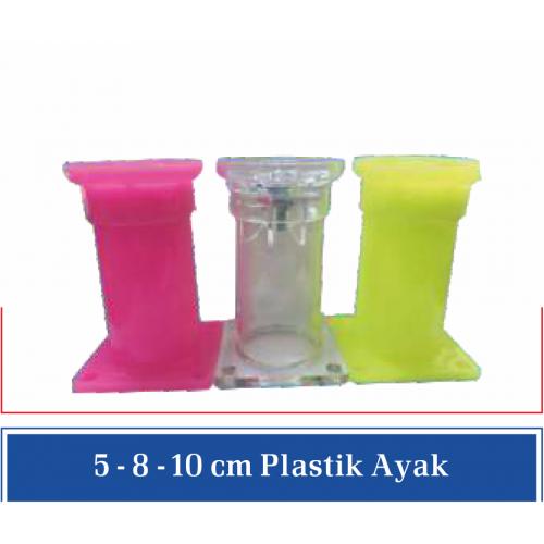8cm Plastik Ayak