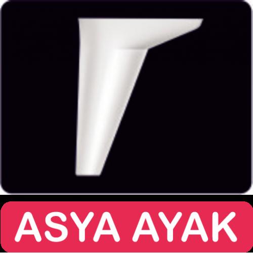 12 CM ASYA AYAK BEYAZ