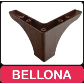 BELLONA - MİMOZA AYAK BEYAZ/CEVİZ (10 ADET)
